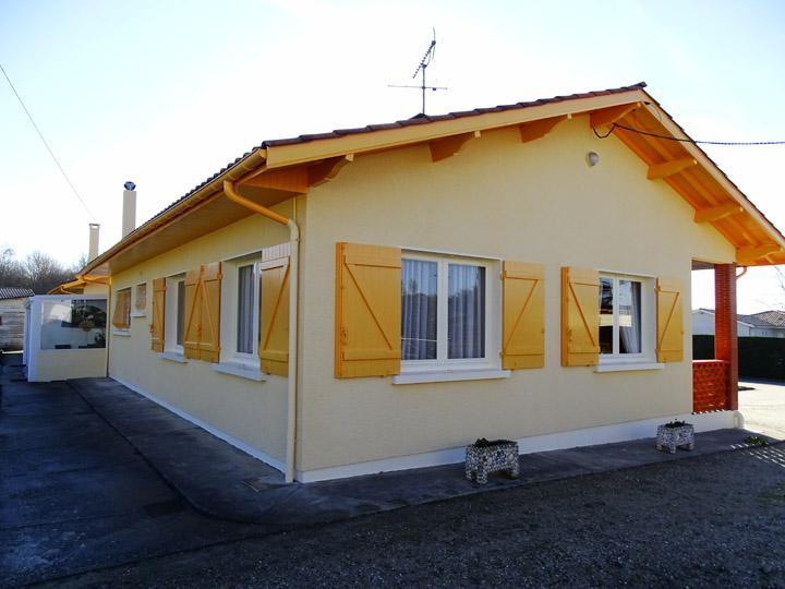 PeinturePavillons et Villas merignac