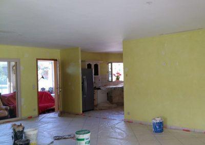Travaux de peinture- Intérieurs facture biganos