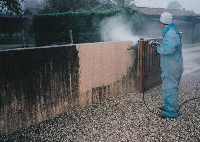 Nettoyage murs